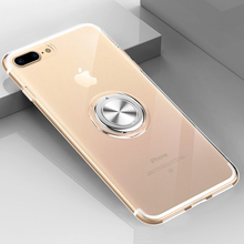 Clear Magnetic Phone Case For iPhone 8 7 6S 6 Plus Cover Case For iPhone X XR XS Max Soft Silicon Cases TPU Adsorption Coque цена и фото
