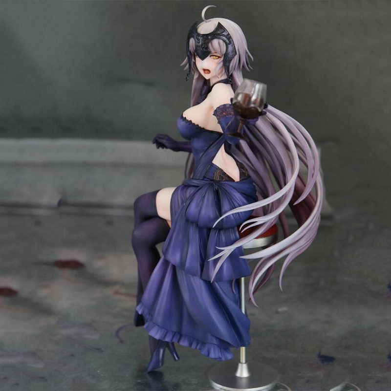 Anime Figure Jouets Fate Apocrypha Grand Order Ruler Alter Jeanne Figurine 25cm