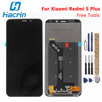 Xiaomi Redmi 5 Plus LCD Display Touch Screen Test Well FHD 5 99 Digitizer Screen Glass