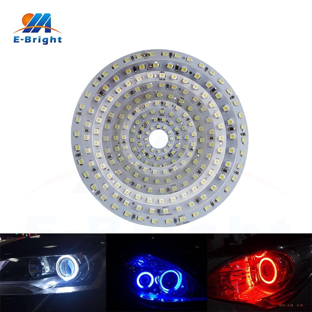 1210 blanco 15 SMD LED Angel Eyes la l/ámpara de 50 mm 2 piezas
