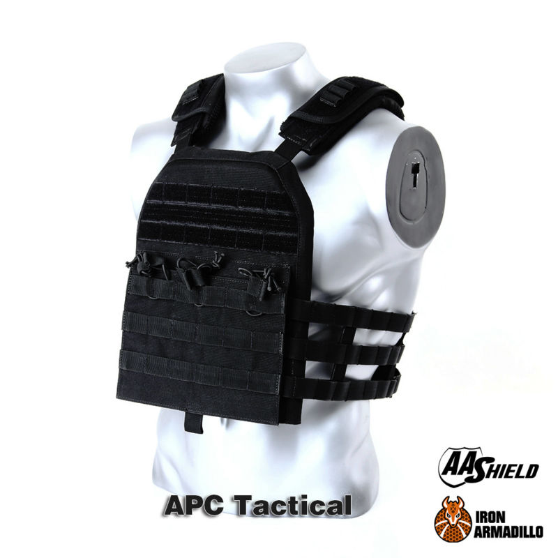 APC Armadillo Plate Carrier Ballistic Tactical Molle Gear Body Armor 10X12 Bullet Proof Vest IIIA Soft Armor Kit apc armadillo plate carrier ballistic tactical molle gear body armor 10x12 black bullet proof vest iiia soft armor plus kit