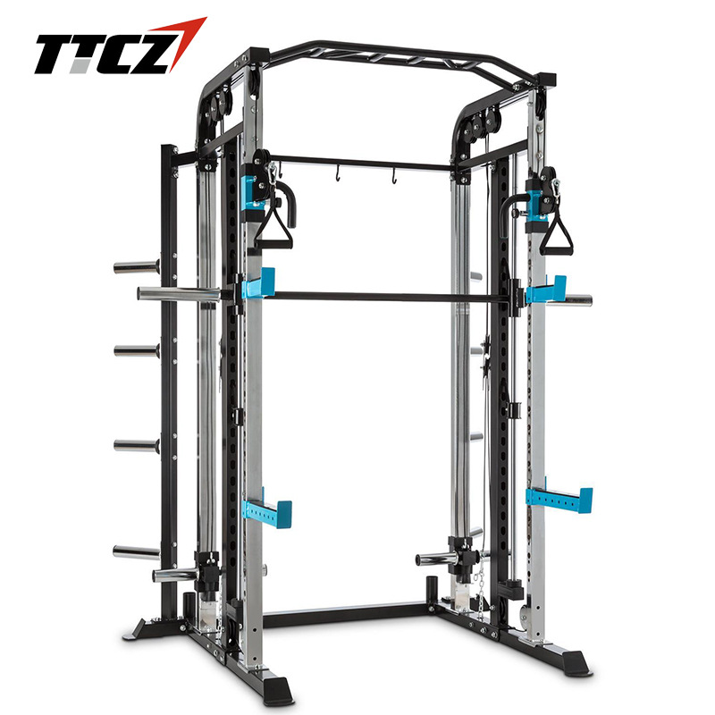Functional Trainer Cable Crossover Station Home Gym Pulley