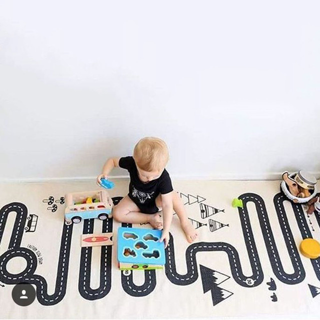 Forest Road Play Mat