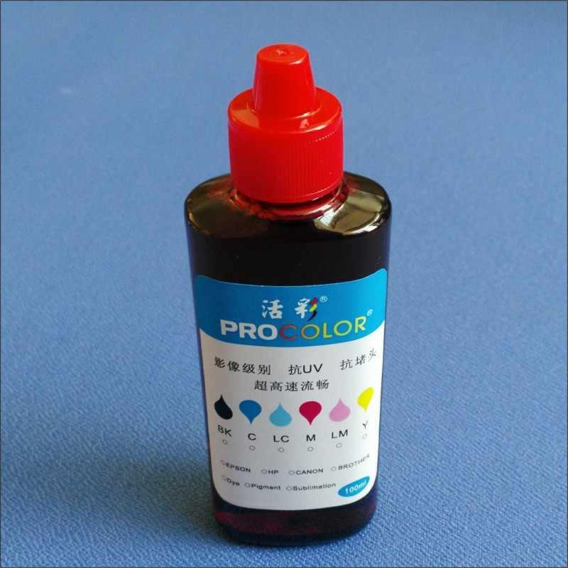 PROCOLOR T7741 pigmet ink 664 CISS dye ink refill kit For Epson Expression  ET-3600 ET 3600 4550 ET-4550 ET4550 inkjet printer