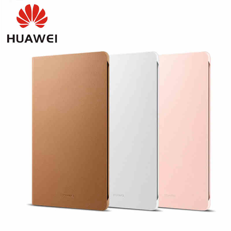 Original Leather Flip Cover For Huawei Mediapad M3 Leather Case With Sleep Wake Function Stand Full