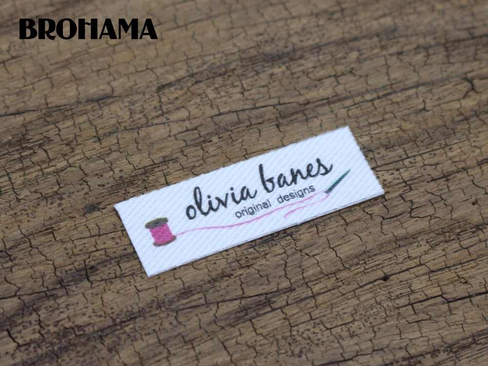 5ae4cf53fd195 128 Custom logo labels / brand labels, handmade fabric tags,Custom Clothing  Labels,Personalized Knitting Labels(TB215)