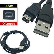 LBSC применимо к цифровой камере Olympus USB кабель для передачи данных CB USB5 12 P USB 12 pin