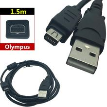 LBSC ישים כדי אולימפוס מצלמה דיגיטלית USB נתונים כבל CB USB5/CB USB6 12P USB 12 פין