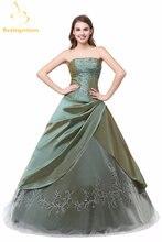 Женское бальное платье bealegantom пышное со шнуровкой и вышивкой