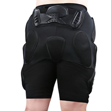 Мужчины мотокросс защиты хип шорты брюки брюки черный сетка мотогонок броня брюки лыжные moto мотоцикл защитное снаряжение