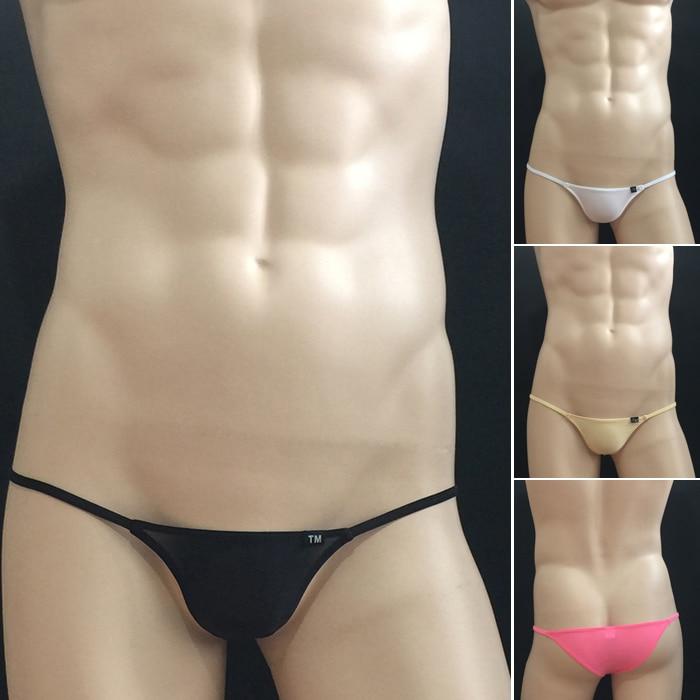 new arrival mens sexy briefs underwear ice silk seamless soomth gay men briefs underwear tight erotic hot sale underwear
