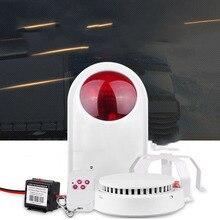 Wireless vehicle smoke detector truck smoke alarm truck transport vehicle smoke detector