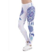 e93bca472102d High Elasticity Legging Tribe Totem 3D Printing Women legins Stretchy  Trousers Slim Fit Pants Leggings(