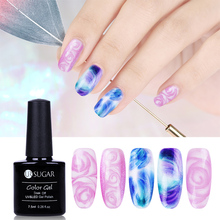 UR SUGAR 7 5ml Nail Blossom UV LED Gel White Clear Soak Off Nail Gel Lacquer