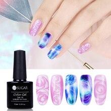UR SUGAR 7.5ml Nail Blossom UV LED Gel White Clear Soak Off Nail Gel Lacquer Manicure Nail Art Gel Polish Varnish