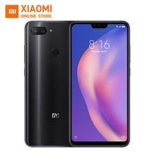 Xiao mi mi 8 Lite 6 GB 128 GB küresel SÜRÜM Cep Telefonu 6.26