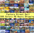 Fast shipment Jigsaw Puzzles 1000 Pieces 26 Colors Educational 1000 Pieces Puzzles Home Decorative Painting Gift