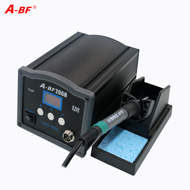 A-BF 90W120W/150W Lead-free Digital Display Electric Soldering Station High power soldering iron 204H/206H/208H цена