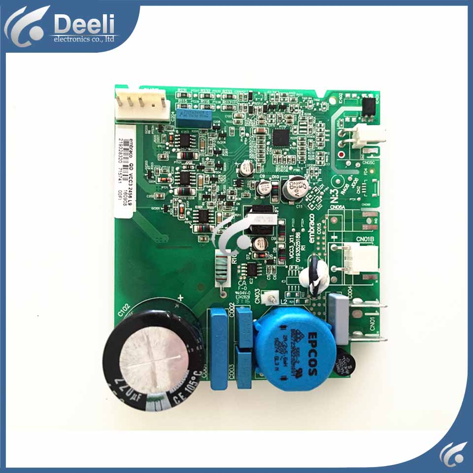 good working for Embraco refrigerator pc board Computer board used good working for embraco refrigerator pc board computer board used bcd 558wa bcd 558wyjz 0064001350 frequency conversion board