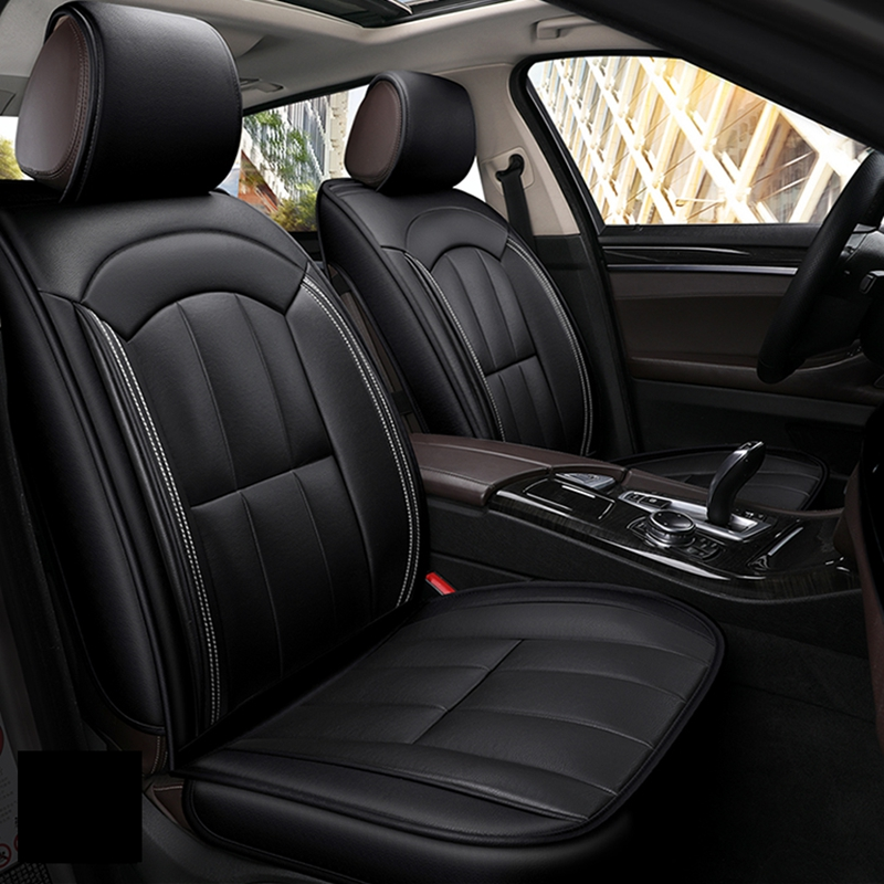 Front+Rear Leather Car Seat Cover set for Chevrolet Cobalt ...