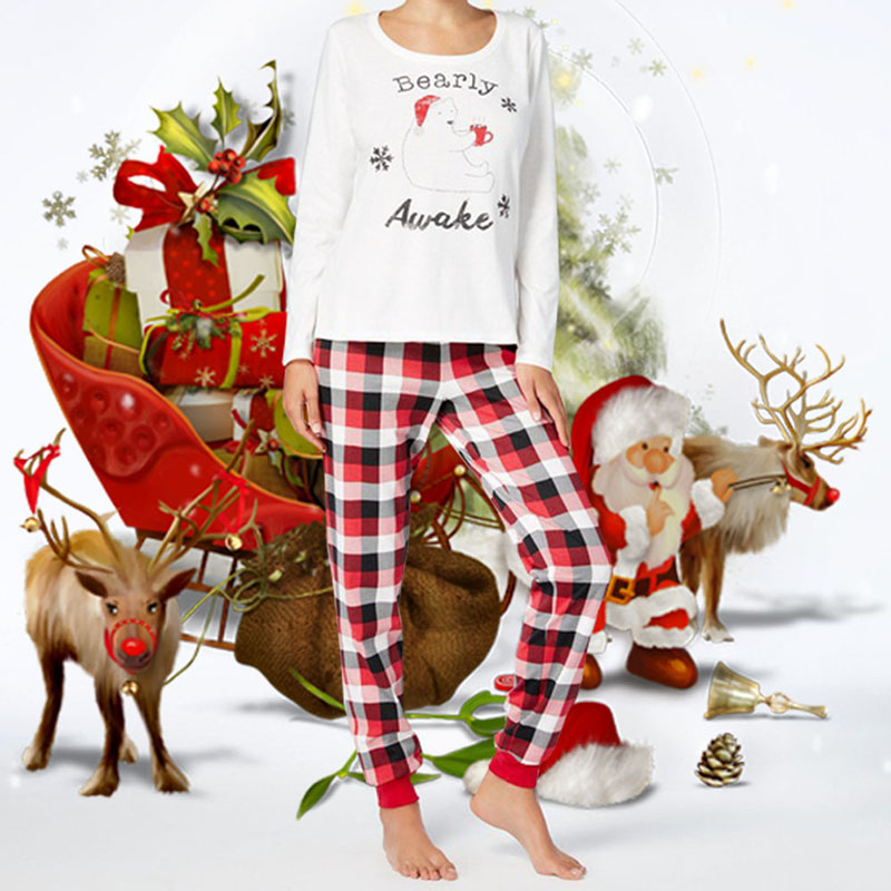 2019 2018 Family Women Men Pajamas Matching Outfits Christmas Family ... 4c2f2eab7