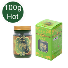 купить 100g Hot Gold Elephant Balm Ointment Thailand Grass Ointment Muscle Pain Relief Ointment Soothe itchy mosquite bite scald по цене 2012.22 рублей