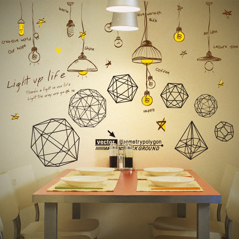 Geometry, Decoration, Polygon, PVC, Material, Wall