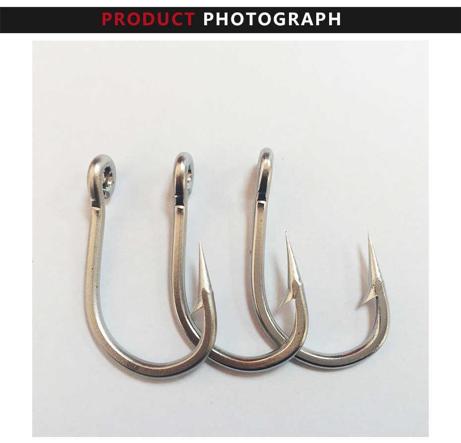 Для выведения токсинов, 40 шт 5/0 mustad Рыбалка крючок из нержавеющей стали тунец круглый рыболовный крючок колючей крючок для рыбалки