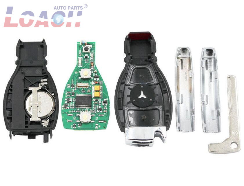 10psc/лот Smart Remote Key 2 кнопки 315/433 МГц BGA стиль с чипом для Mercedes Benz 2000 + - 2