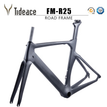 2017 Tideace carbon bike frame 700C bicycle carbon road frameset with fork and PF30BB accessories V brake chinese carbon frames  2017 bike parts time trial carbon bicycle frame carbon road bike frame carbon tt frameset for 700c carbon bike triathlon