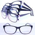 20 pcs um lote por atacado colorido 78220 redondo-quadrado de acetato de injeção leve semi transparente cor de óculos óptica quadros