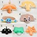 7 estilos almohada pikachu Charmander Charizard juguete Eevee Squirtle Dragonite felpa Snorlax almohada animal de peluche de juguete