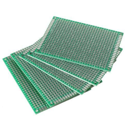 10 PCS Double Side Prototype PCB nned Universal Breadboard 5x7 cm 50mmx70mm FR4 double side prototype pcb breadboards 2 x 8cm 10 pcs