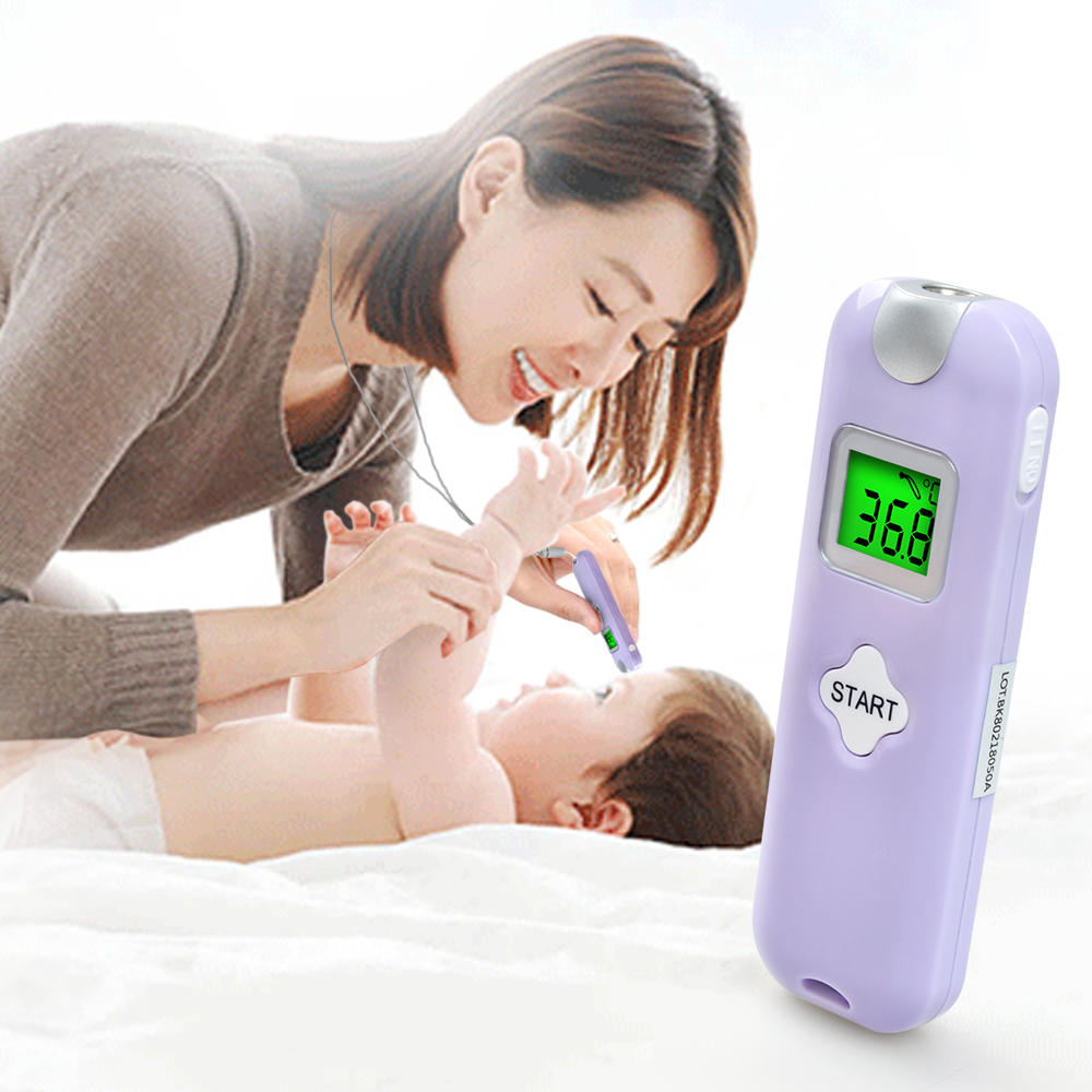 ELERA Baby Thermometer Forehead and Ear Digital Infrared IR LCD Non-Contact Adult Body Care Fever Measurement Termometro цена 2017