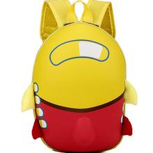 Joyloading 3D Cartoon Waterproof Rocket Design Kids Backpack Students  Preppy Schoolbag Children Pack(China)