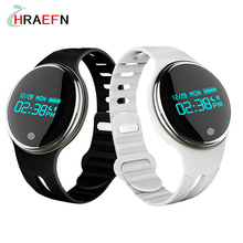 Hraefn Bluetooth Smart band E07 Smartband Fitness tracker watch IP67 waterproof swim Anti Lost sports bracelet for ios android