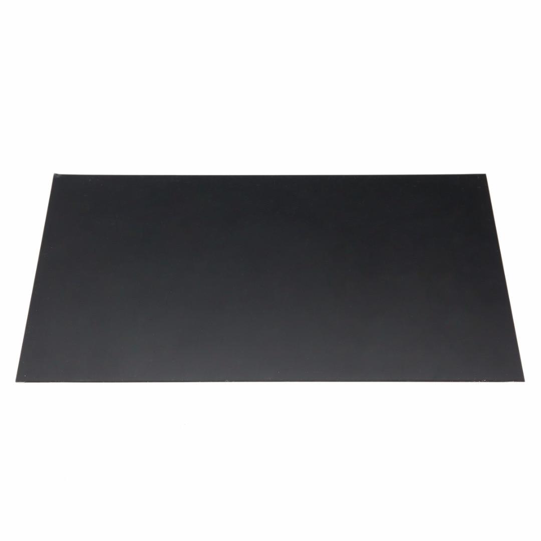 Плоская пластина из АБС-пластика, 1 шт., 1 мм x 200 мм x 300 мм для строительных моделей