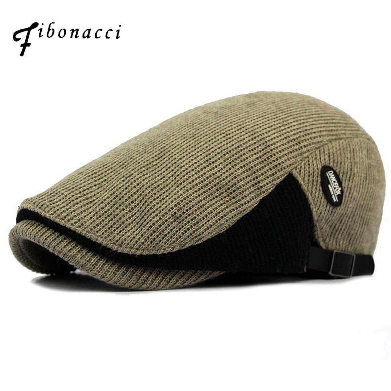 Fibonacci Retro Newsboy Hat Men