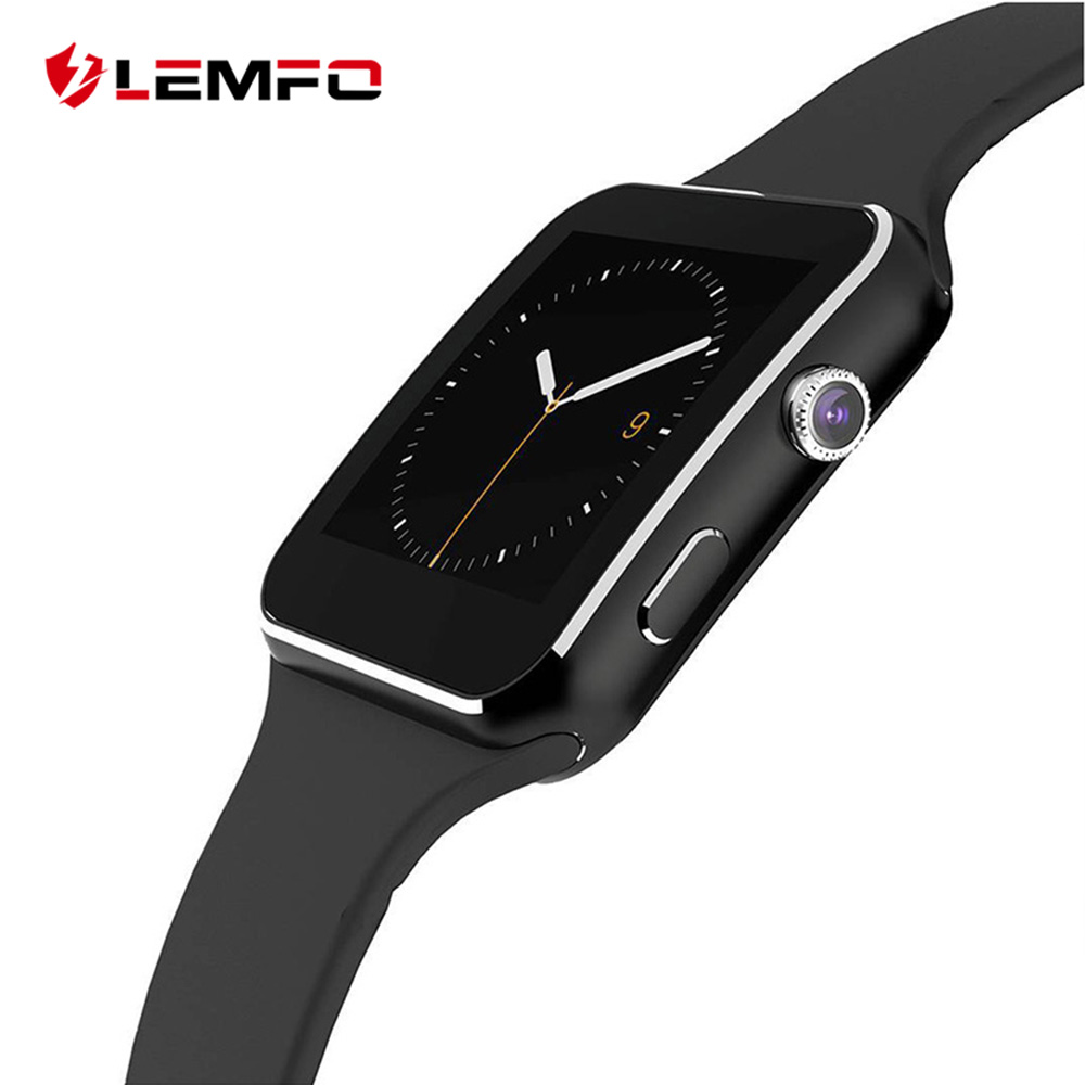 LEMFO Smart Watch Ceramics Curved Screen 240*240 Pix Support SIM Camera Pedometer For Android IOS Look Like Apple Watch
