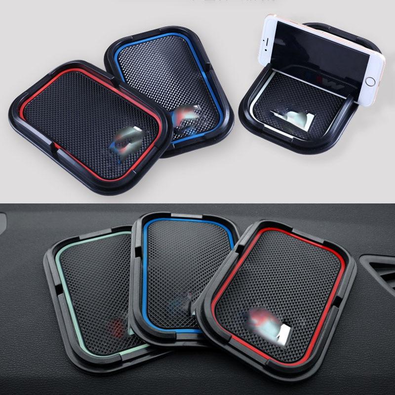 1P Glue M Power M performance car phone no slip pad ring sticker For BMW M