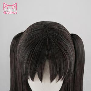 Image 4 - 【AniHut】Tohsaka Rin Wig Fate Grand Order Cosplay Wig FGO Cosplay Tohsaka Rin Long Straight Hair