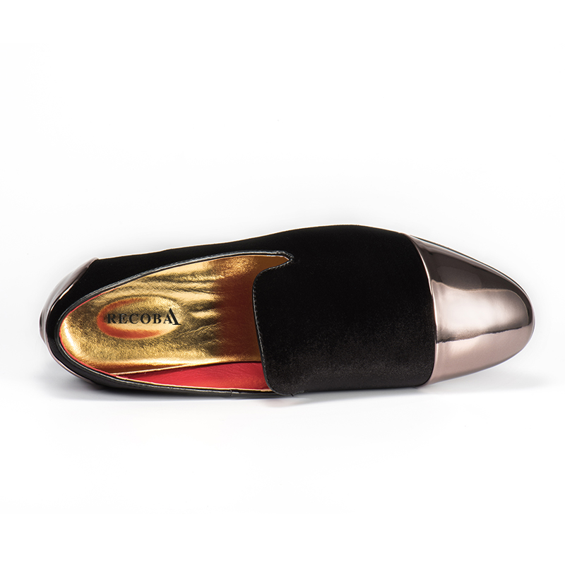 Men loafers plus size 11 black velvet faux suede tassel penny metal cap loafers men moccasins slip ons men leather casual shoes