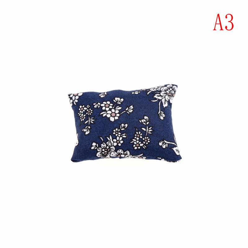 1/2/3 шт подушки для дивана диван-кровать 1/12 кукольный домик миниатюрная мебель Игрушки Без диван кресло Детские Рождественские подарки для обуви