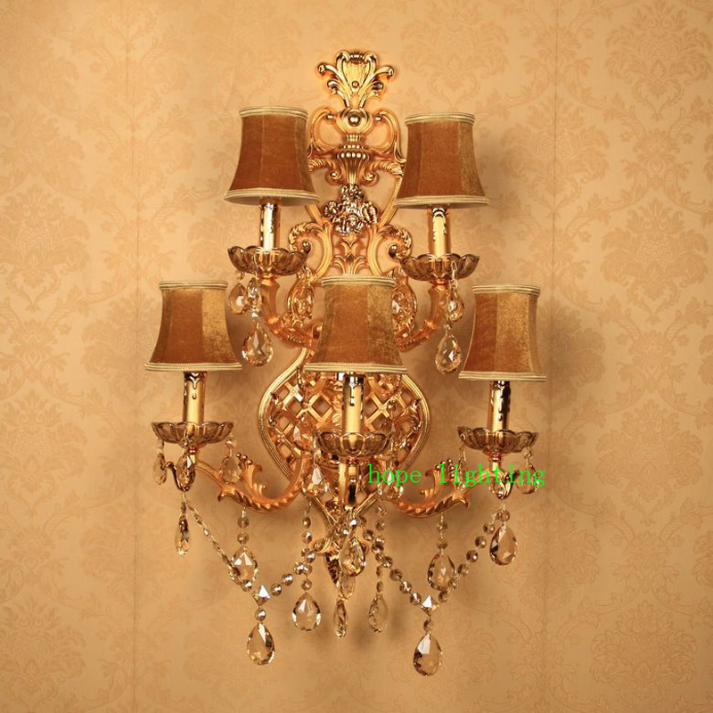 indoor wall sconces large crystal wall lamp with fabric shade vintage wall lights sconce large wall lamp hotel corridor lightsin wall lamps from lights