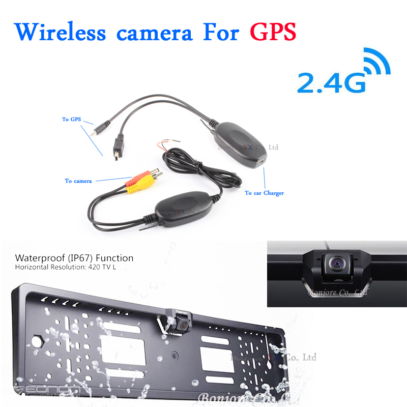 Vehicle Electronics & Gps Waterproof 170° Ntsc License Plate Car Rear View Backup Reverse Parking Camera