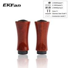 1 шт. EKFan рыболовная ручка имитация дерева материал Рыболовная катушка ручка Аксессуар подходит для S& D Рыболовная катушка