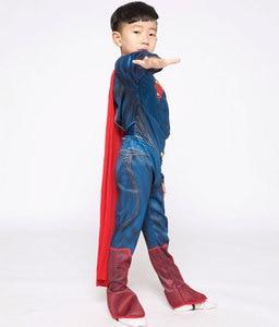 Image 2 - Purim Deluxe Muscle Superman Kostüm Weihnachten Kinder Kind Kostüme Halloween Party Karneval Cosplay Kostüme