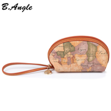 2016 Stars war map message Fashion Cell Phone Pocket Coin Purse Pocket Coin Wallet Coin Case With Zipper wristlet in PVC