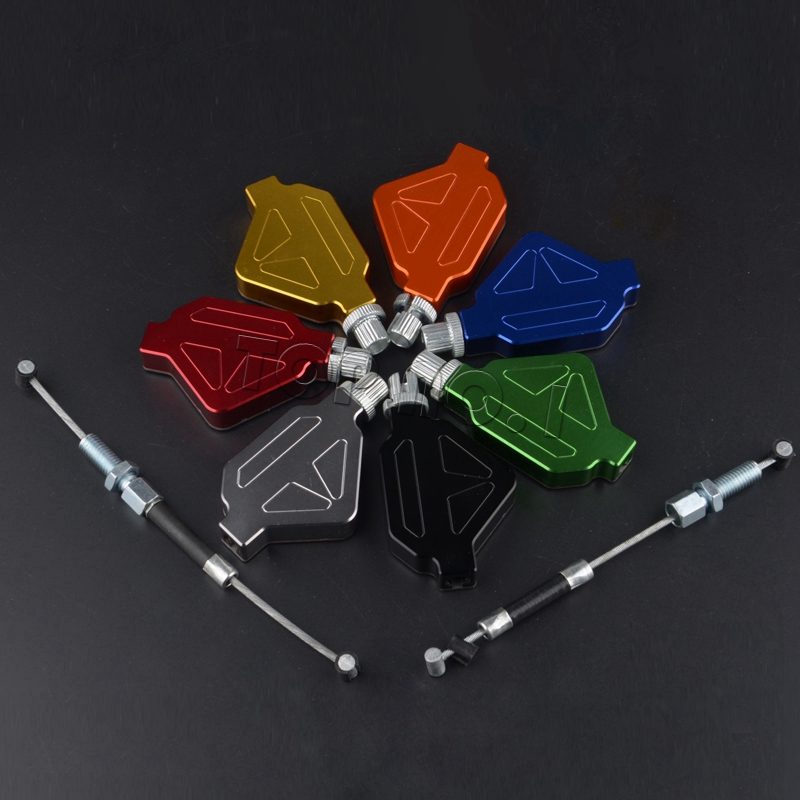 For YAMAHA XT660X XT660R 04-14/ XT660Z 08-14 XT660 Motorcycle Aluminum Stunt Clutch Easy Pull Cable System NEW 7 colors