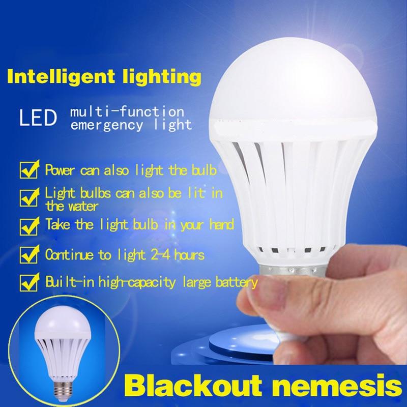 E27 LED 5W 7W 9W 12W 15W Emergency Rechargeable Light Bulb,Multi-functional Emergency Lamps 220V--M25 canmeijia leds lamp 110v 220v rechargeable emergency led light bulbs 5w 7w 9w 12w led battery lights bulb e27 lamps lighting